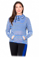 USN Ladies Cowl Neck Hoody